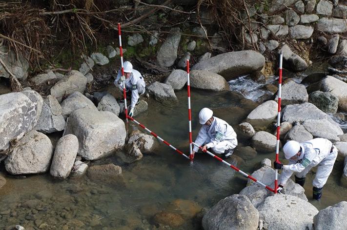 平成23年度災害査定第24号高田川外災害査定用測量設計業務のイメージ画像