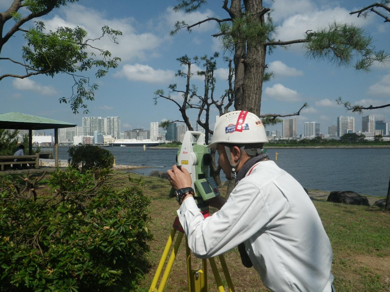 平成29年度お台場海浜公園地形測量