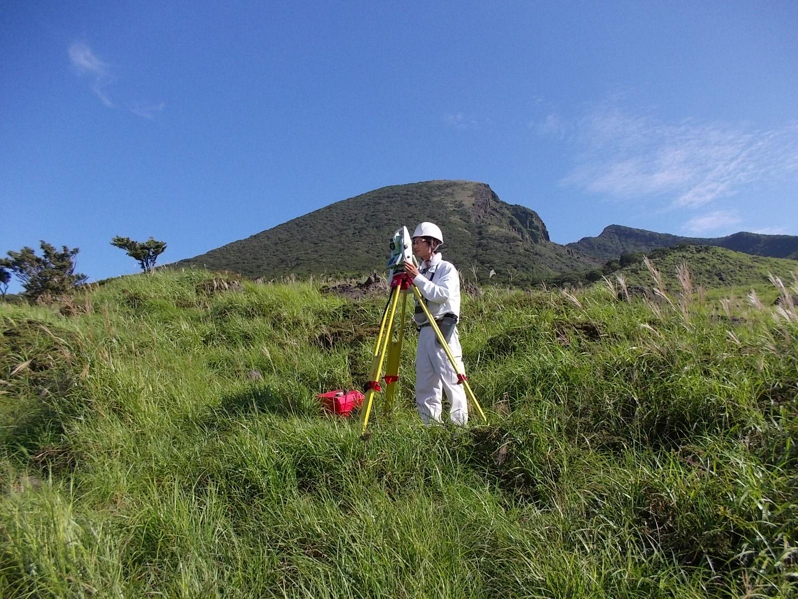 47火山観測整備に伴う用地測量業務(福岡管区)
